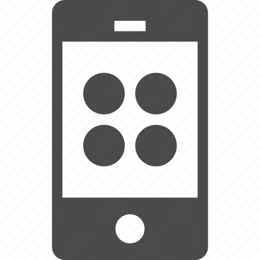 apps, cell, device, gadget, phone, smartphone icon