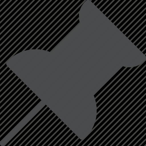 pin, post icon