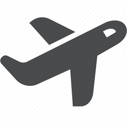 airplane, departing, flight, fly, plane, take off icon