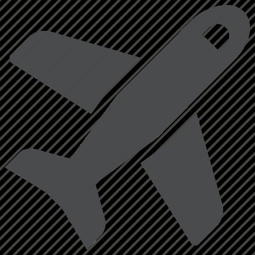 aircraft, airplane, flight, fly, jet, plane, travel icon
