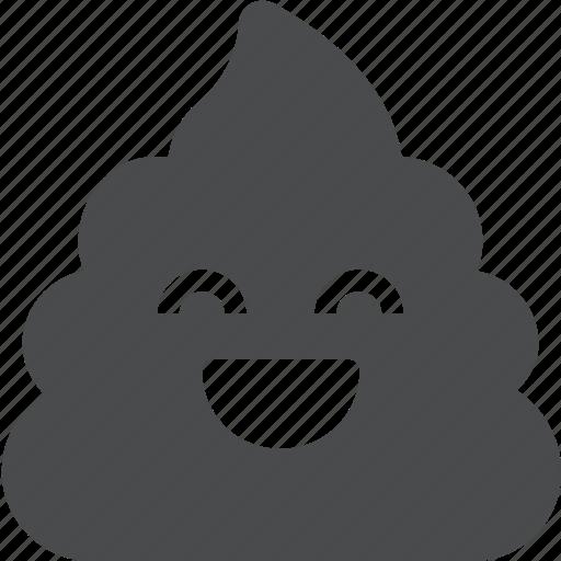 crap, emoji, poo, poop, shit, terd icon