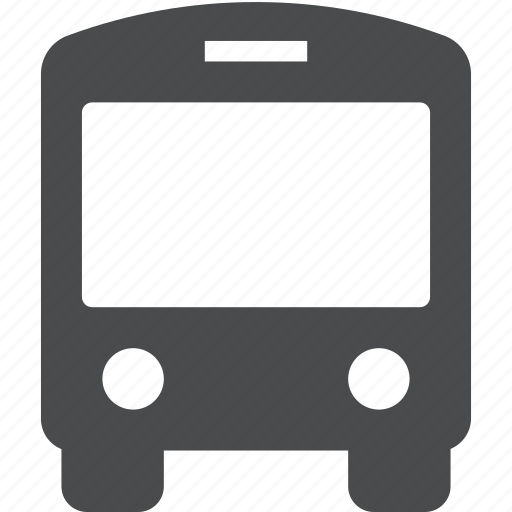 bus, public, shuttle, transportation icon