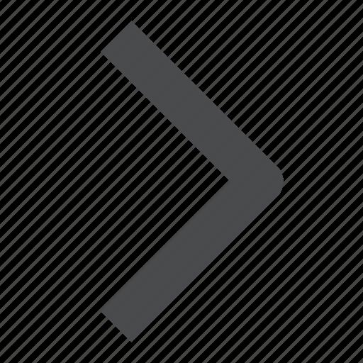 chevron, next, right icon