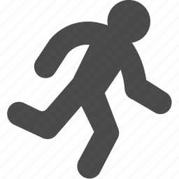 activity, cardio, person, run, running icon