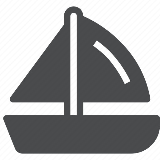 nautical, sail, sailboat, sailing, sea, yacht icon
