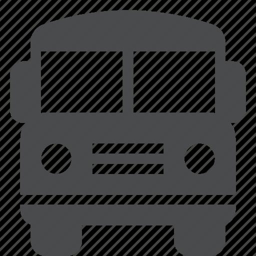 bus, public, school, transportation icon