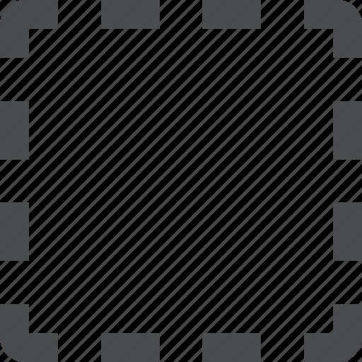 select, selection, square icon