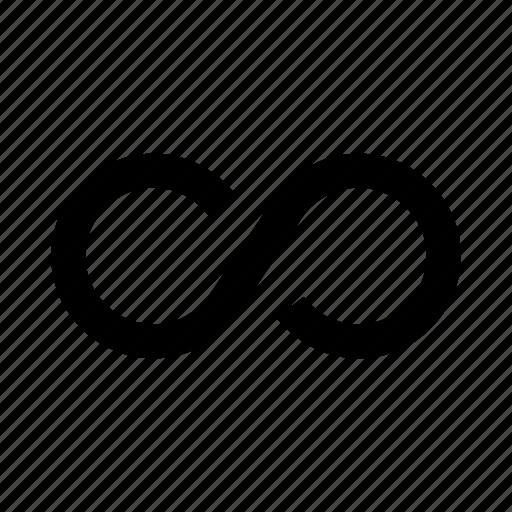 arrow, endless, infinite, inifinite, loop, refresh, repeat icon
