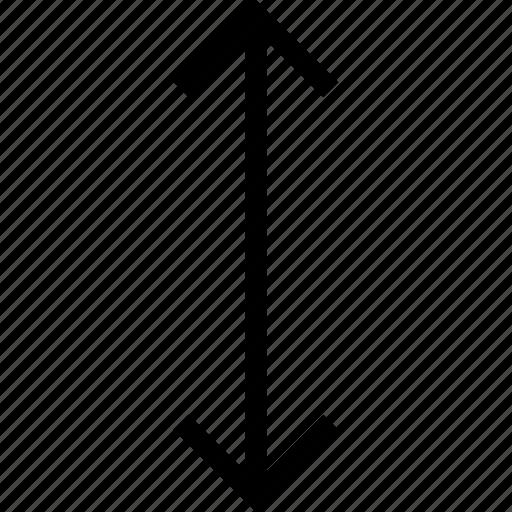 arrows, down, expand, ios optimized, mac desktop, mac os x, up icon