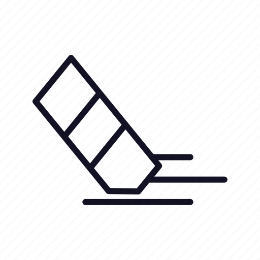 bin, cancel, clear, close, erase, rubber, trash icon