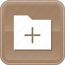 data, file, folder, plus, storage icon