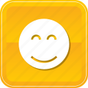 emoji, face, happy, smile, smiley icon