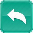 arrow, back, direction, left, previous icon