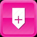 add, badge, bookmark, guardar, mark, ribbon, save icon