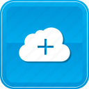 add, cloud, computing, create, new, plus icon