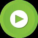 film, movie, play, player, start, video icon