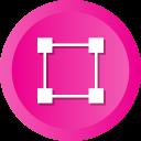 abstract, creative, crop, design, hexagon, tool icon