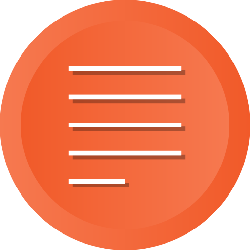 align, control, justify, paragraph, text icon