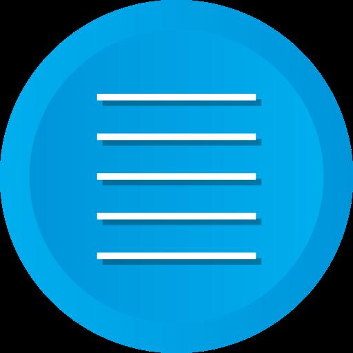 align, control, justify, text icon