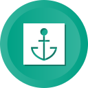 anchor, boat, marine, nautical, ship, slor, tattoo icon
