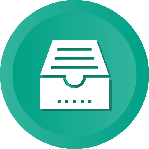archive, clipboard, docs, document, file, folder, list icon