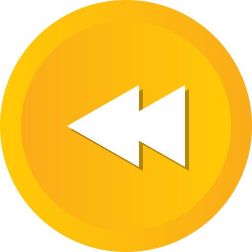 Arrow, back, left, multimedia, music, player, rewind icon - Free download