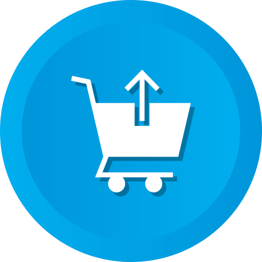 Arrow, cart, commerce, shopping, up, upload icon - Free download