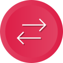 arrows, direction, orientation, swap, switch icon
