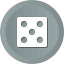 bet, casino, dices, game, line, lodo icon