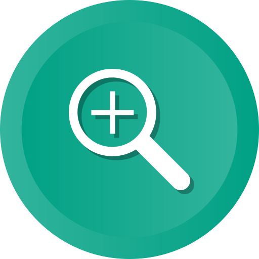 Bigger, enlarge, magnifier, magnify, search, zoom icon - Free download
