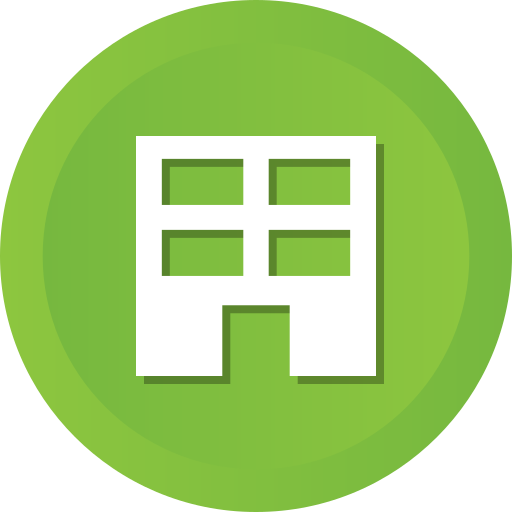 building, business, company, estate, home, house, real icon