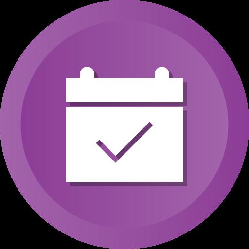 Calendar, check, date, event, ok icon - Free download