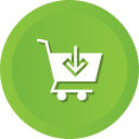 cart, commerce, download, ecommerce, shop, shopping, store icon