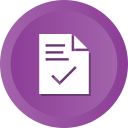 check, contract, document, file, ok, success icon
