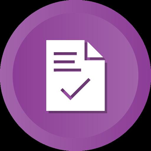 check, contract, document, file, ok, success icon