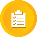 checklist, clipboard, inventory, list, report, tasks, todo icon