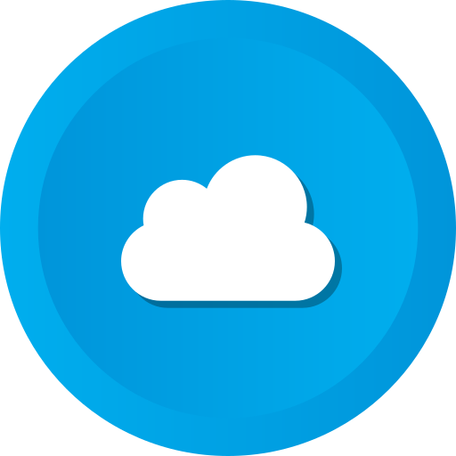 cloud, clouds, cloudy, computing, sky, storage icon