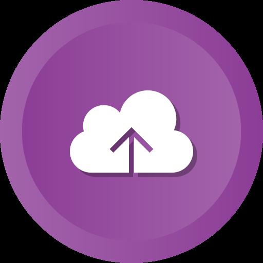 Cloud, computing, data, storage, upload icon - Free download