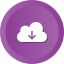 cloud, data, download, downloading, guardar, save, storage icon