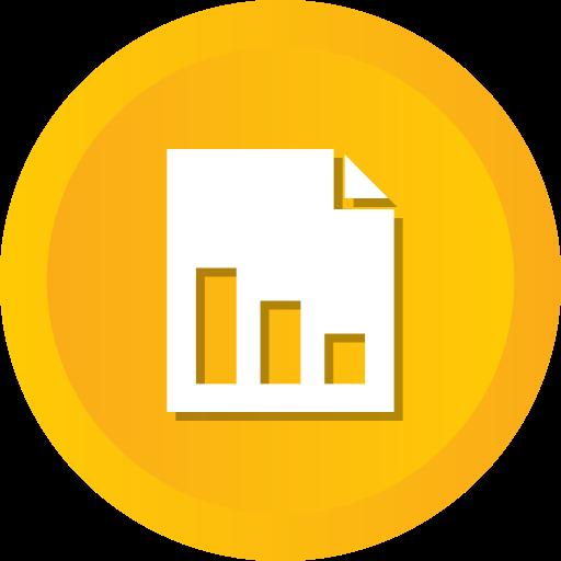 cloud, online, pie, report icon