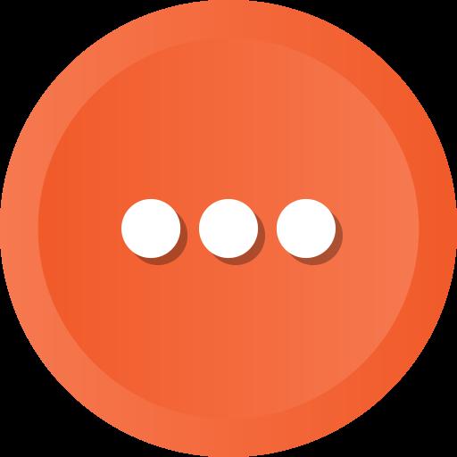 Continue, ellipsis, menu, more, options icon - Free download