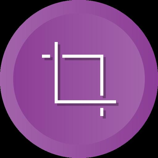Crop, design, tool, transform icon - Free download