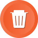 delete, dustbin, empty, recycle, recycling, remove, trash
