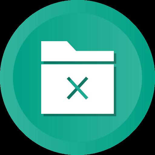 Data, delete, files, folder, remove icon - Free download