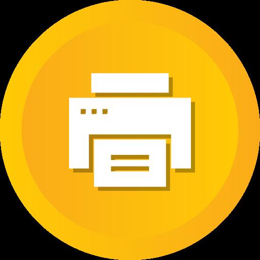 device, paper, print, printer, printing, technology icon