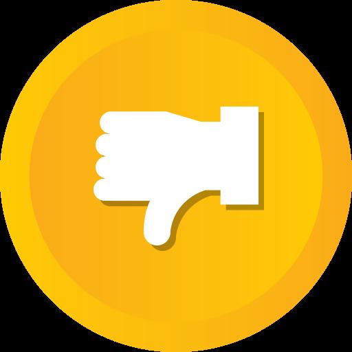 Dislike, down, thumb, thumbs, vote icon - Free download