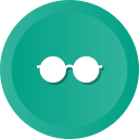 eye, fashion, glasses, optic, optical, spectacles icon