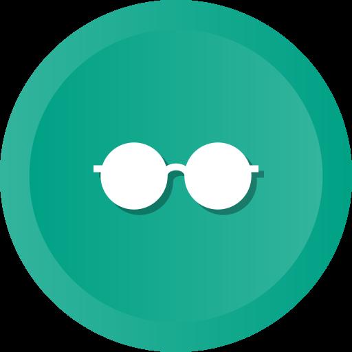 eye, fashion, glasses, optic, optical, spectacles icon