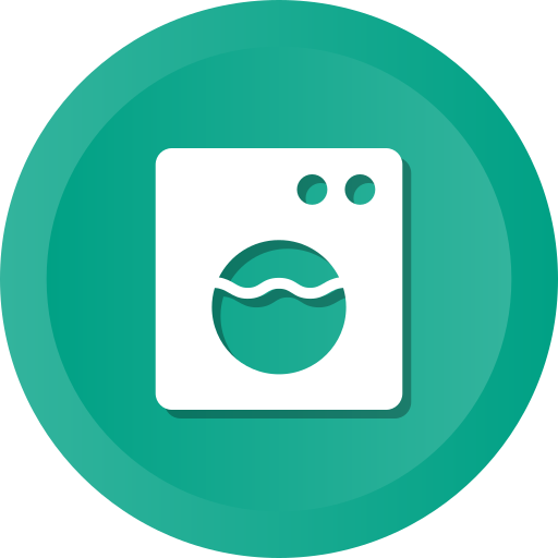 Electronic, front, machine, washer, washing icon - Free download