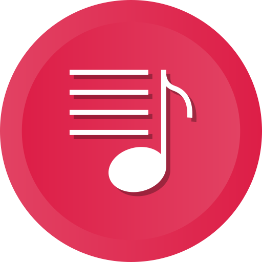 list, multimedia, music, player icon